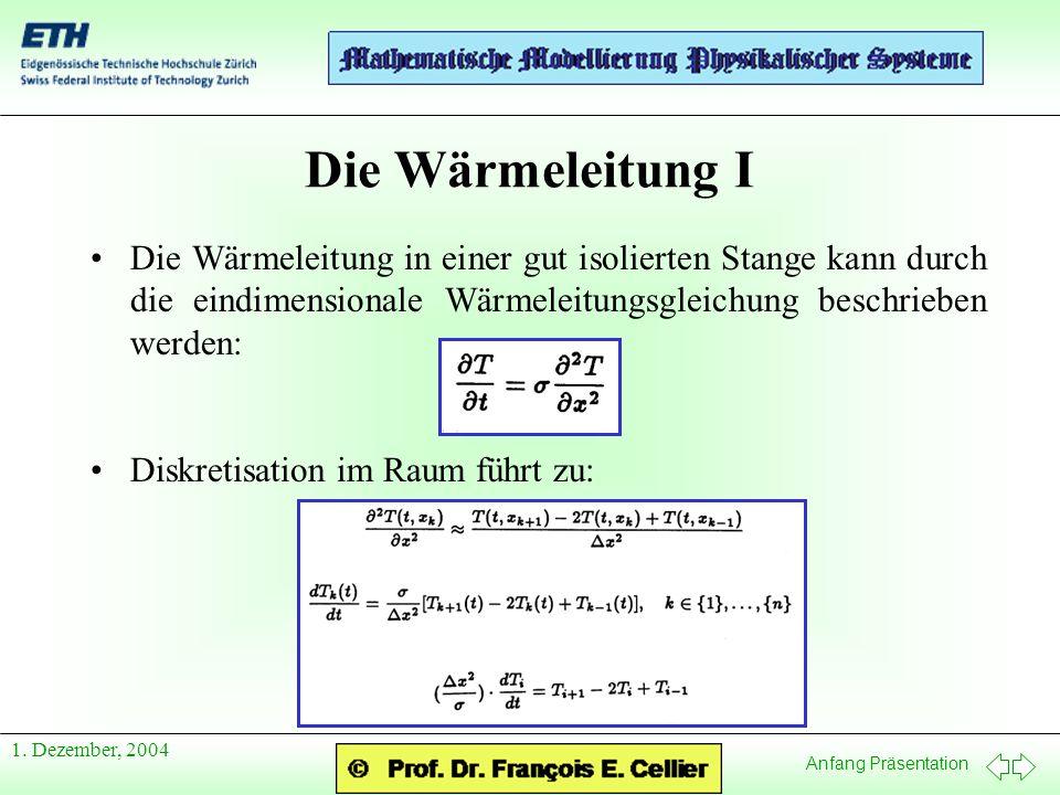 Anfang Präsentation 1.