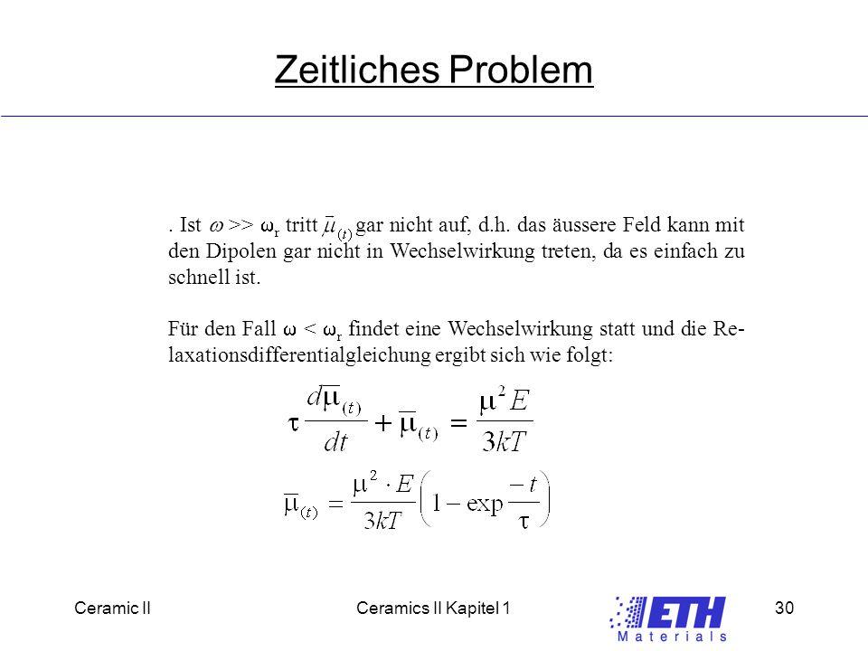 Ceramic IICeramics II Kapitel 130 Zeitliches Problem.
