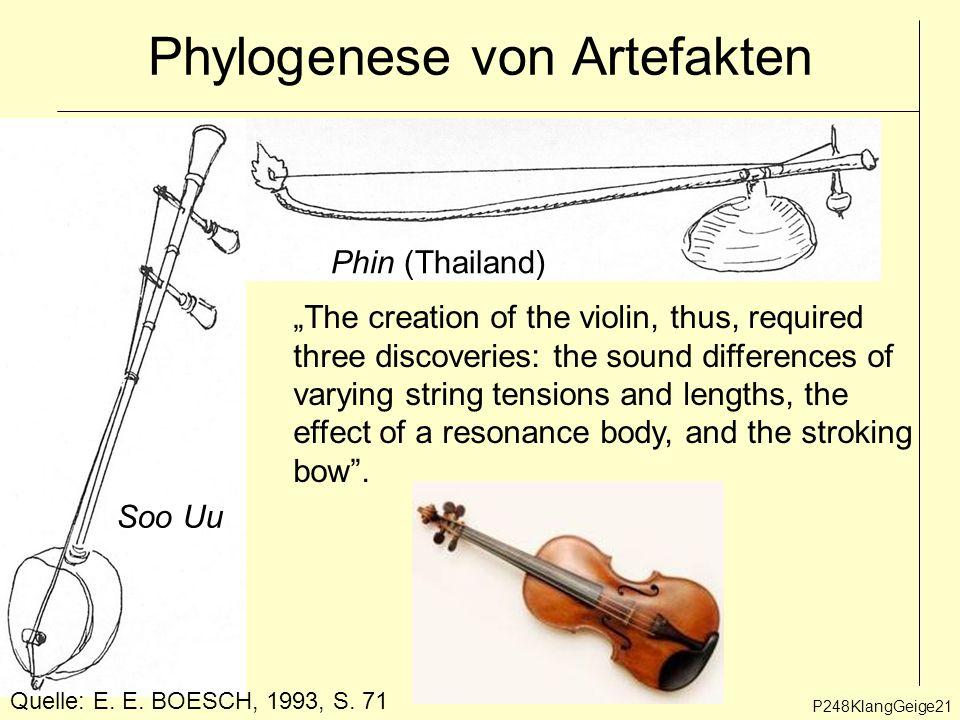 P248KlangGeige21 Phylogenese von Artefakten Phin (Thailand) Soo Uu Quelle: E.