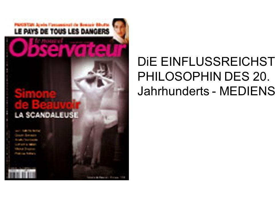 DiE EINFLUSSREICHSTE PHILOSOPHIN DES 20. Jahrhunderts - MEDIENSICHT