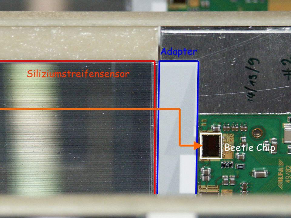 Und das Signal.Man benötigt hoch spezialisierte Elektronik - eigens entwickelte Chips.