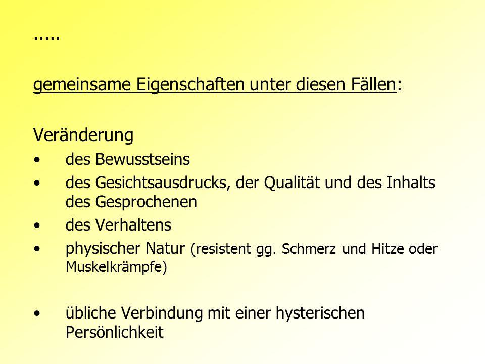 Klassifikations-Systeme 3 Typen nach Dr.