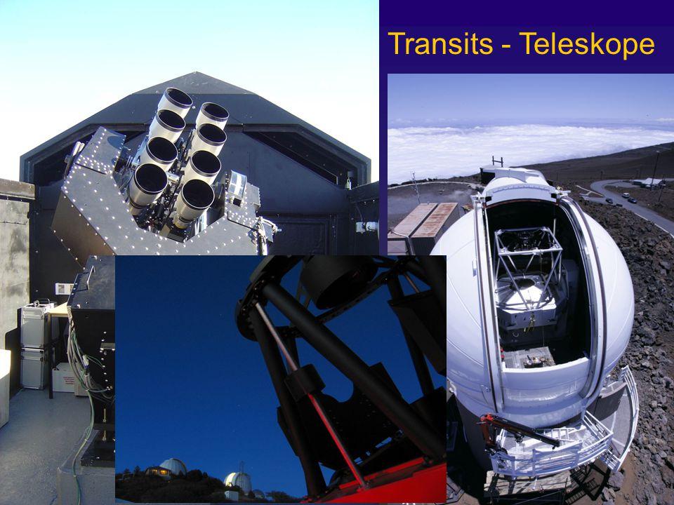 Transits - Teleskope