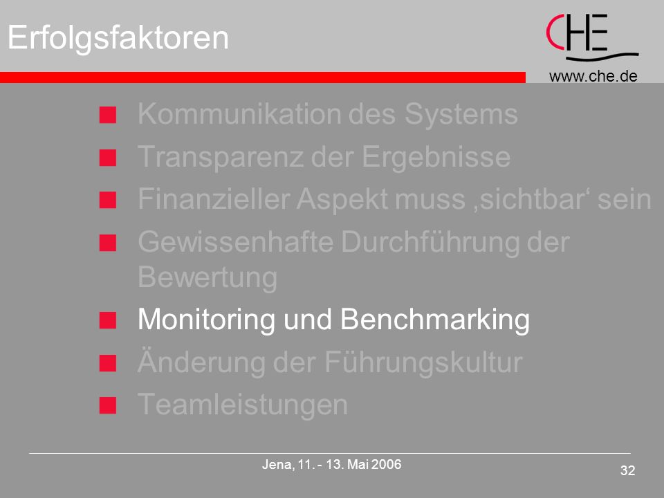 www.che.de 32 Jena, 11. - 13.