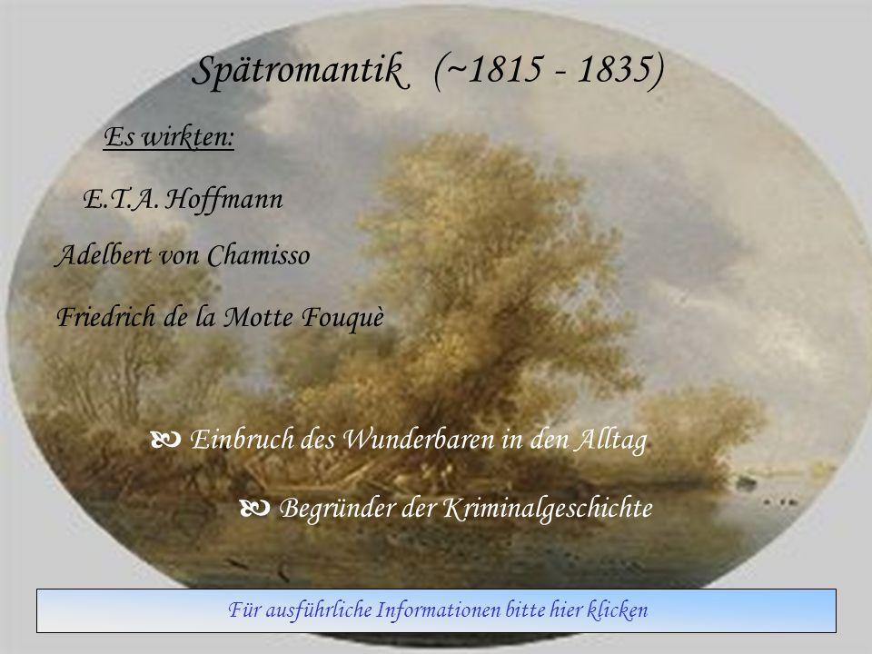 Spätromantik(~1815 - 1835) E.T.A.