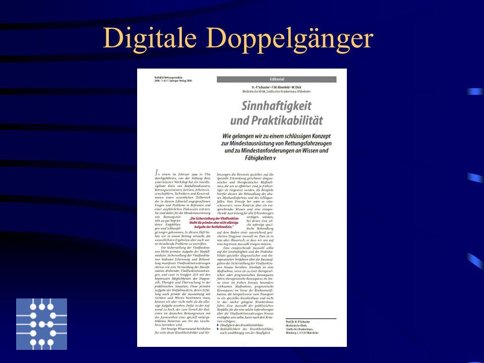 Digitale Doppelgänger