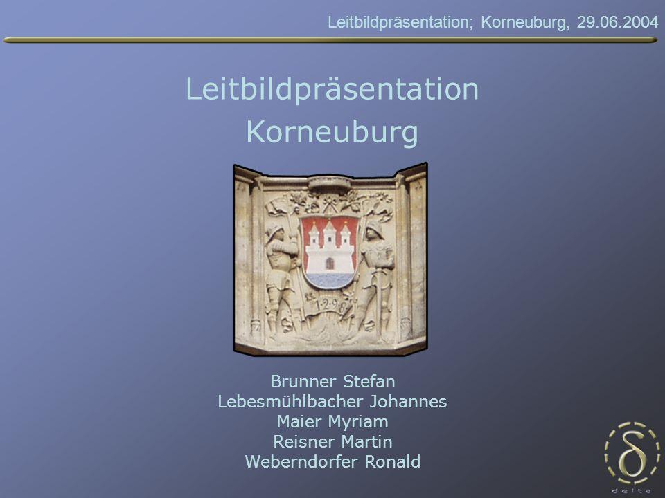 Leitbildpräsentation; Korneuburg, 29.06.2004