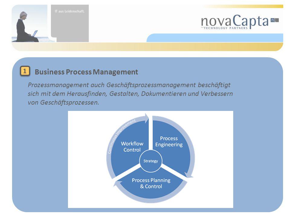 Prozessmanagement auch Geschäftsprozessmanagement beschäftigt sich mit dem Herausfinden, Gestalten, Dokumentieren und Verbessern von Geschäftsprozessen.