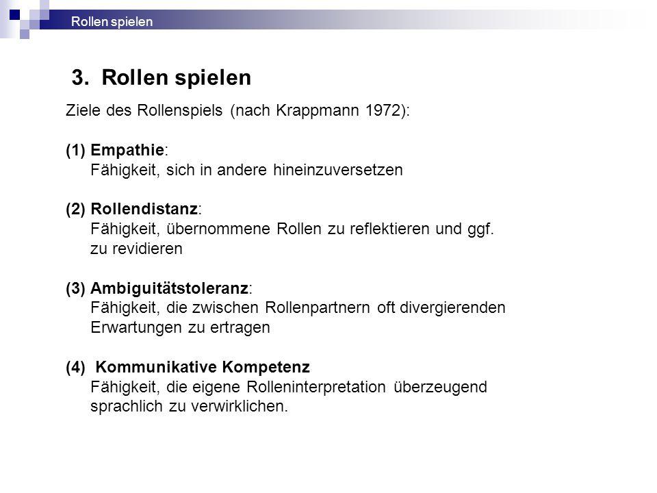 """""""Improvisation Drei Improvisationsregeln nach Keith Johnstone (1981, S."""