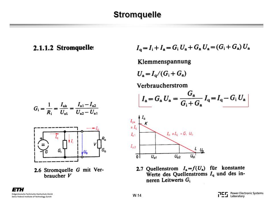 Stromquelle W-14