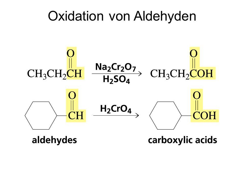 Oxidation von Aldehyden