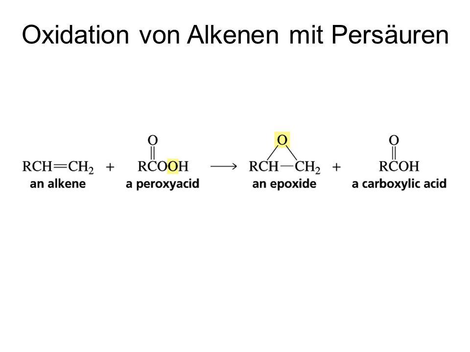 Oxidation von Alkenen mit Persäuren