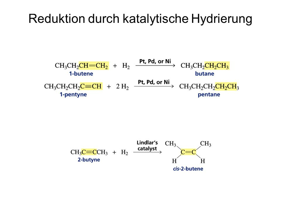 Ozonide können zu Carbonylverbindungen gespalten werden