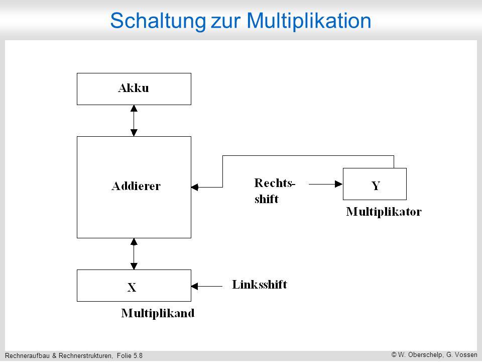 Rechneraufbau & Rechnerstrukturen, Folie 5.8 © W. Oberschelp, G.