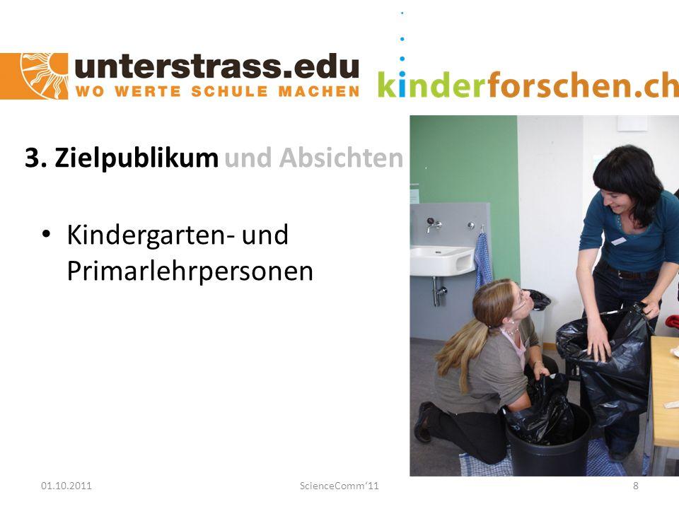 01.10.2011ScienceComm'1119 Nachhaltigkeit