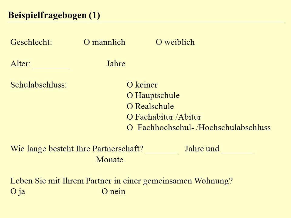 Schwierigkeit und Trennschärfe Die Trennschärfe ist die Korrelation zwischen einem Item und dem Rest des Fragebogens (Summe aller anderen Items).