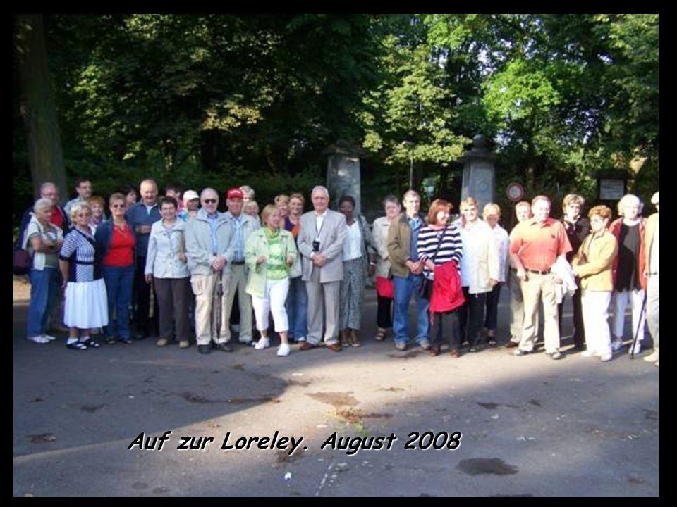 Treffen August 2008 Zum ersten Mal im Freien