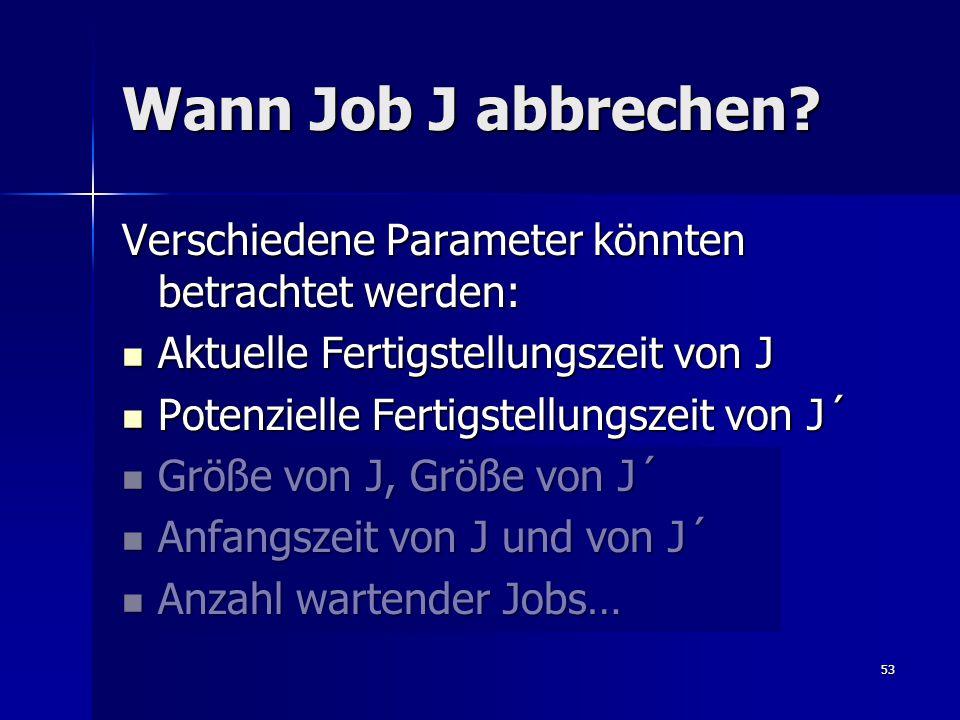 53 Wann Job J abbrechen.