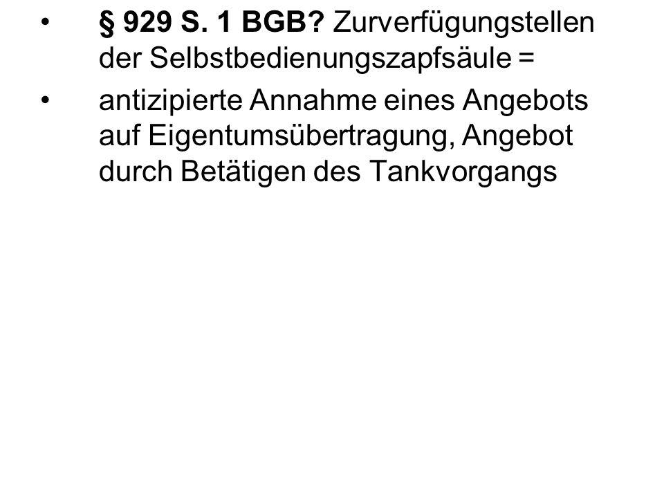 § 929 S. 1 BGB.