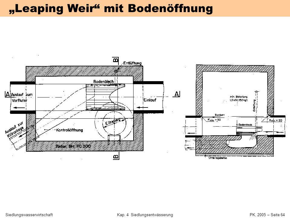 SiedlungswasserwirtschaftKap. 4 Siedlungsentwässerung PK, 2005 – Seite 63 Mischwasserentlastungen in Dresden