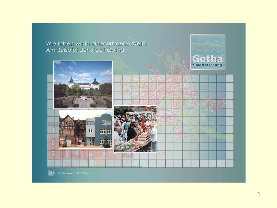 12 Zur Wahrnehmung von Umbauprozessen in einer Großsiedlung in Gotha.