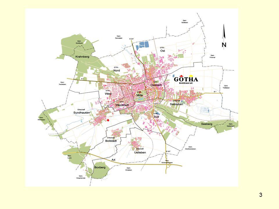 14 Zur Wahrnehmung von Umbauprozessen in einer Großsiedlung in Gotha.