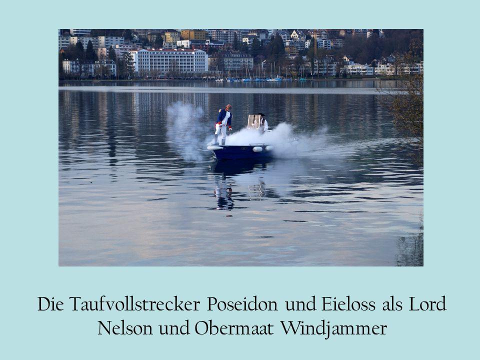 Die Taufvollstrecker Poseidon und Eieloss als Lord Nelson und Obermaat Windjammer