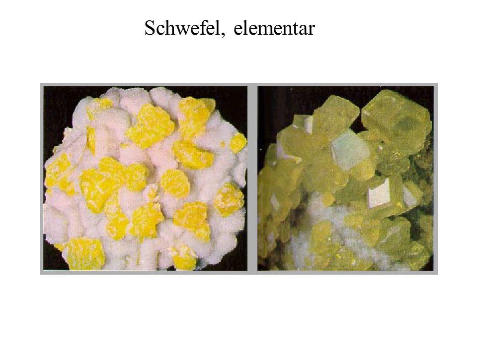 Schwefel, elementar