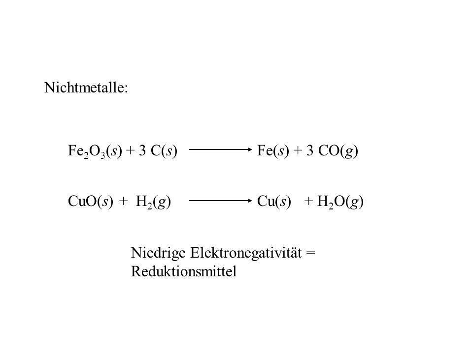 Elementmodifikationen von Selen, Tellur Se: 3 rote monokline Modifikationen ( , ,  ): Se 8 -Ringe wie in S 8 rote orthorhombische Modifikationen von cyclo-Se 6, cyclo-Se 7 in Gasphase: Se n -Moleküle (n = 2-10) graue = metallische trigonale Modifikation: helikale polymere Ketten; thermodynamisch stabilste Form Darstellung durch Erhitzen aller übrigen Mod.