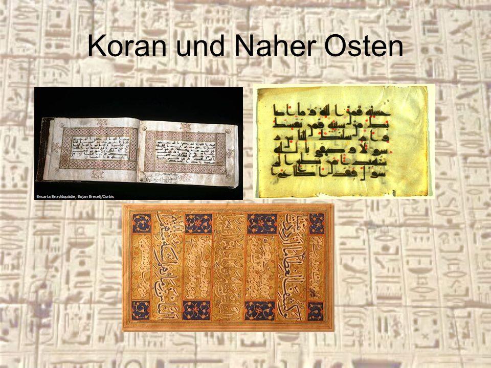 Koran und Naher Osten