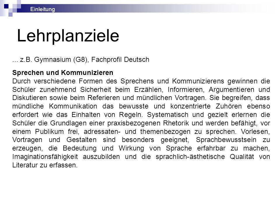 Vernachlässigung des mündlichen Erzählens im Deutsch- unterricht: Gründe (nach Werner Wintersteiner in de 3/1990, S.