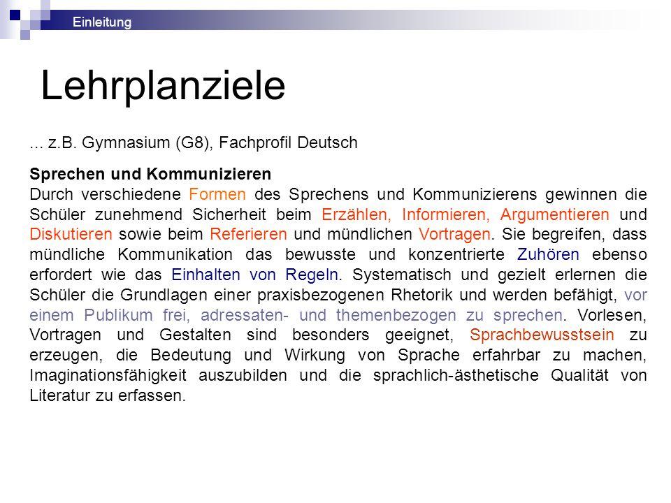 5.6 Resümee: Rhetorisches Sprechen - Überzeugungsarbeit im Medium der Mündlichkeit 5.