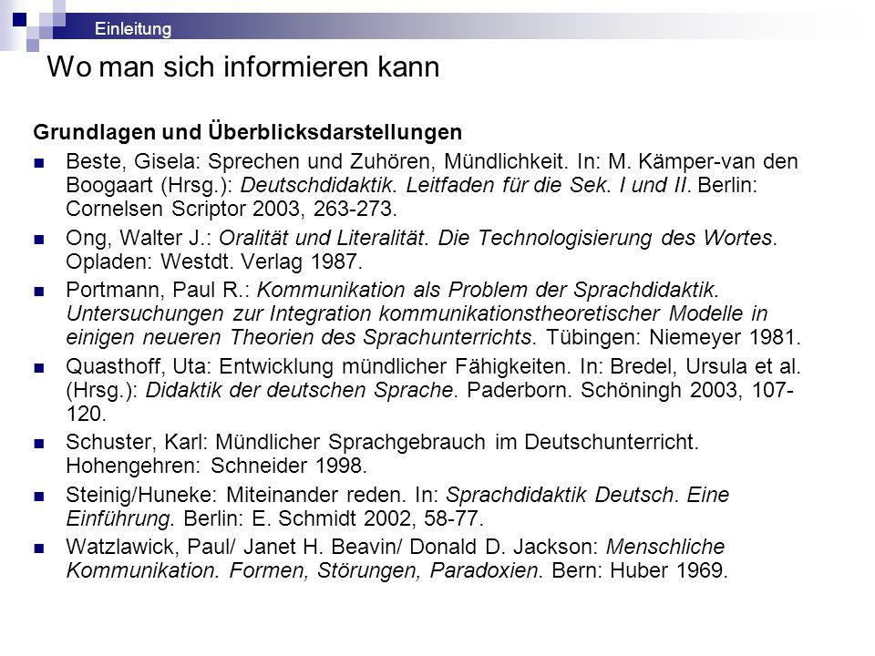 Para- und körperprachliche Signale (nach Ekman/Friesen 1969) Embleme: Signale, die in verbale übersetzbar sind, z.B.