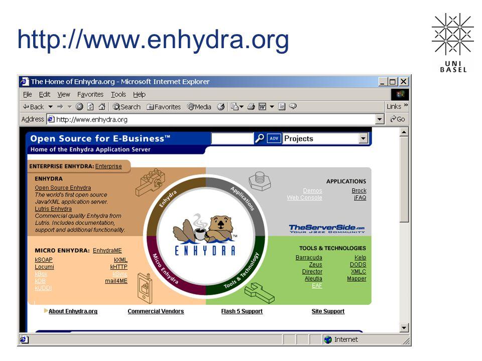 http://www.enhydra.org