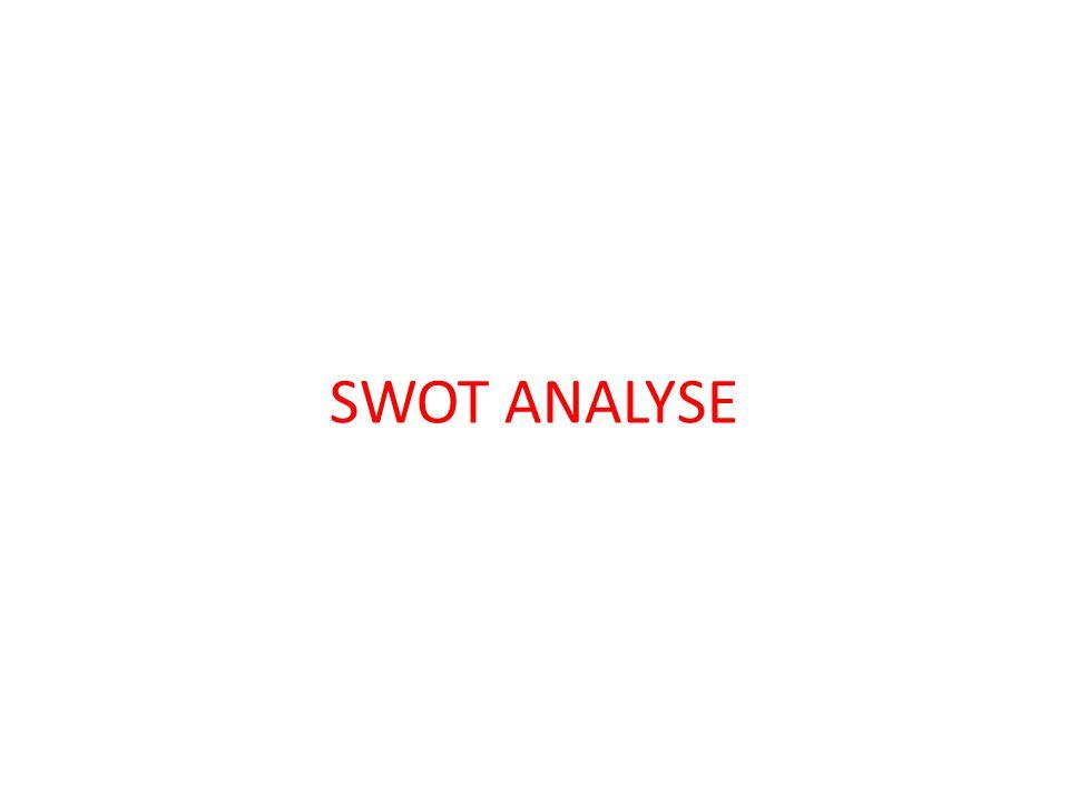 Nach dem Analyseteil der Markro- und Mikro-Umwelt (Marketing-Wirkungsfaktoren) folgt die SWOT-Analyse und übernimmt die Aufgabe, wichtige Entwicklungen der Marketing-Umwelt, die Einfluss auf die Marketingstrategie haben, zu erkennen und Kernkompetenzen des eigenen Unternehmens festzustellen, mit denen es seinen Mitbewerbern überlegen ist.