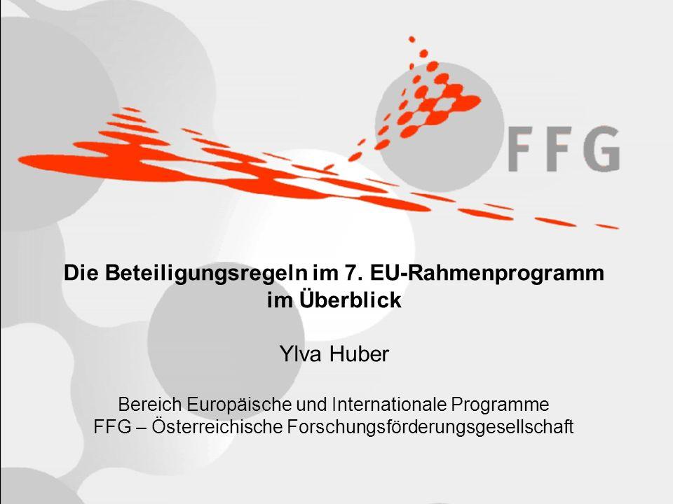 """Jänner 2007 Maßnahmen zum Bürokratieabbau im RP7 – """"Simplification  Einheitliches Registrierungssystem mit gemeinsamer Datenbank für alle Kommissionsdienststellen."""