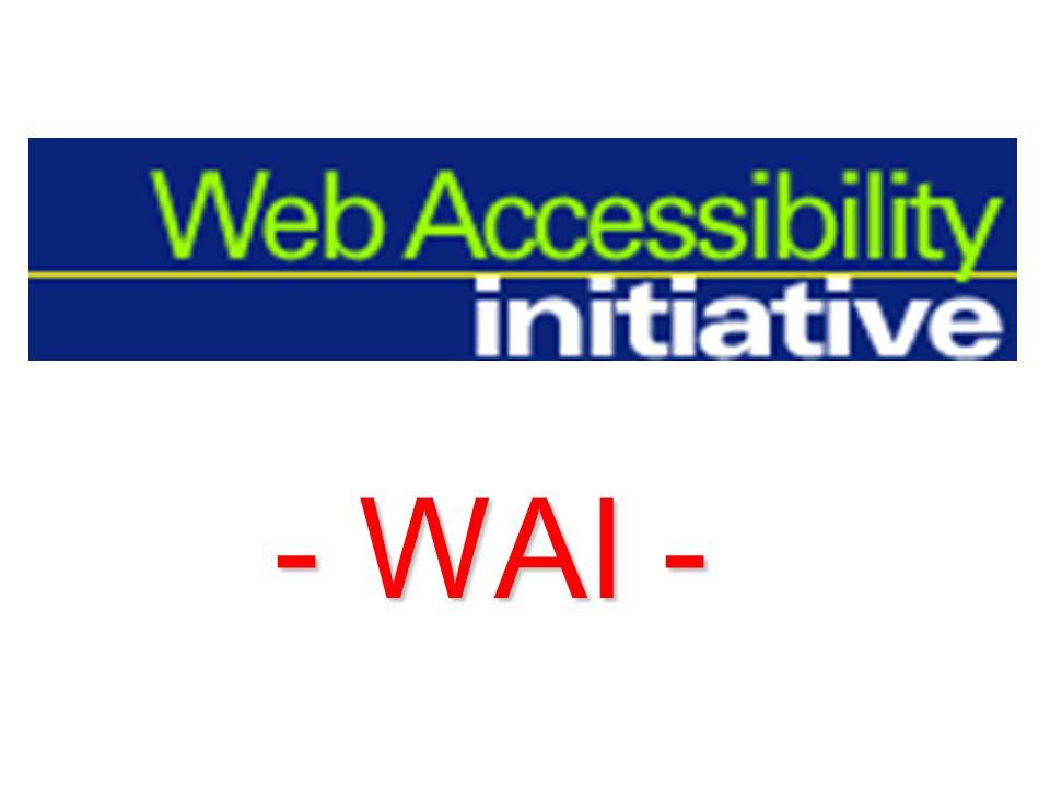 Barrierefreies Webdesign – Zugänglichkeit – Accessibility Die Kunst, Webseiten so zu programmieren, dass jeder sie lesen kann !