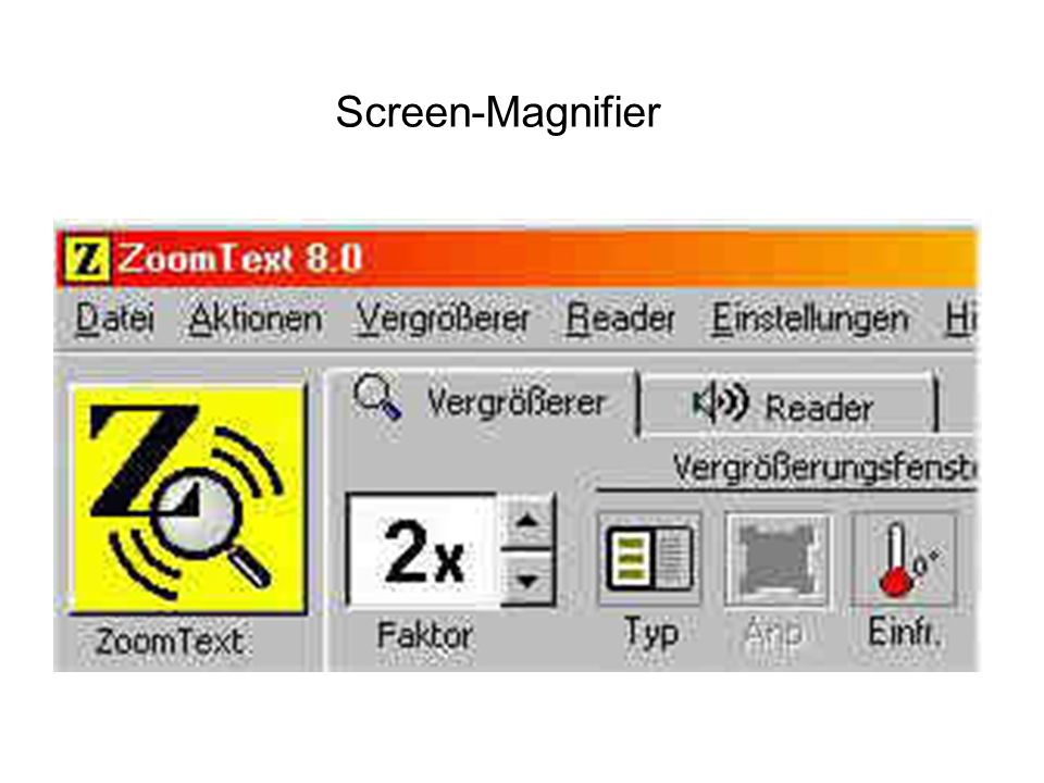 Screen-Magnifier