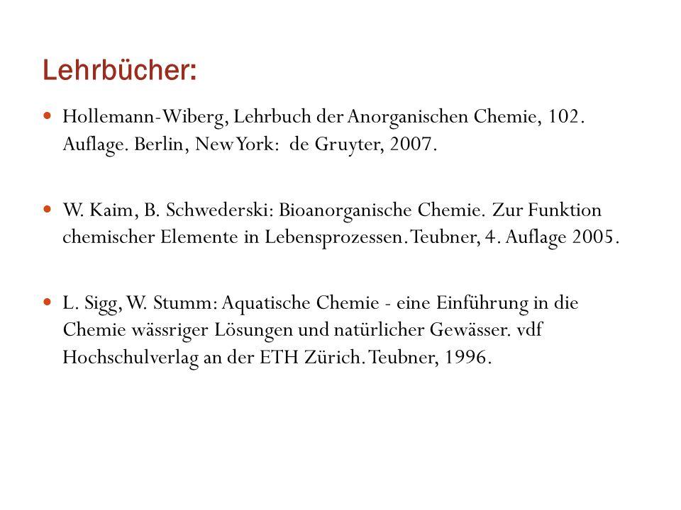 Quelle: Robert Kummert/Werner Stumm, Zürich 1987; Idee nach Tyler Miller, 1971