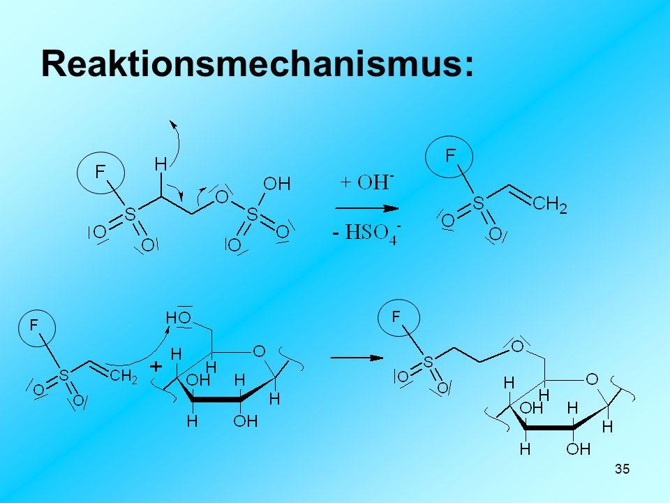 35 Reaktionsmechanismus: