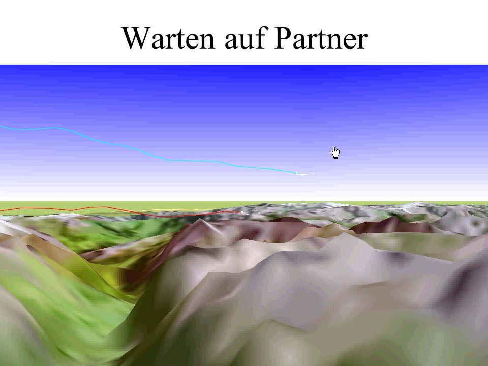 Warten auf Partner