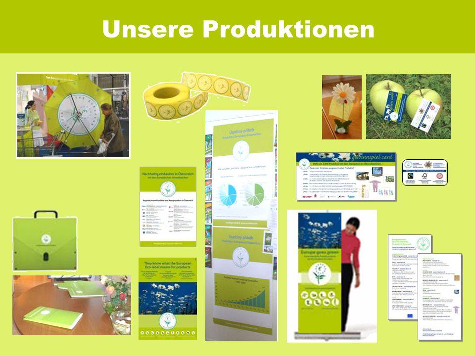 Unsere Produktionen
