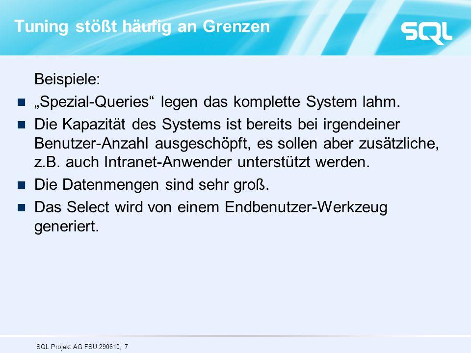 SQL Projekt AG FSU 290610, 48 Eurostat : Horizontale Partitionierung