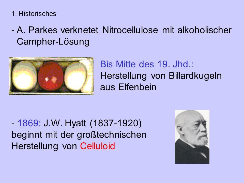 Bis Mitte des 19.Jhd.: Herstellung von Billardkugeln aus Elfenbein - A.