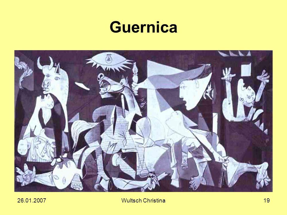 26.01.2007Wultsch Christina19 Guernica