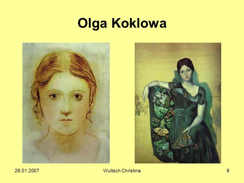 26.01.2007Wultsch Christina6 Olga Koklowa