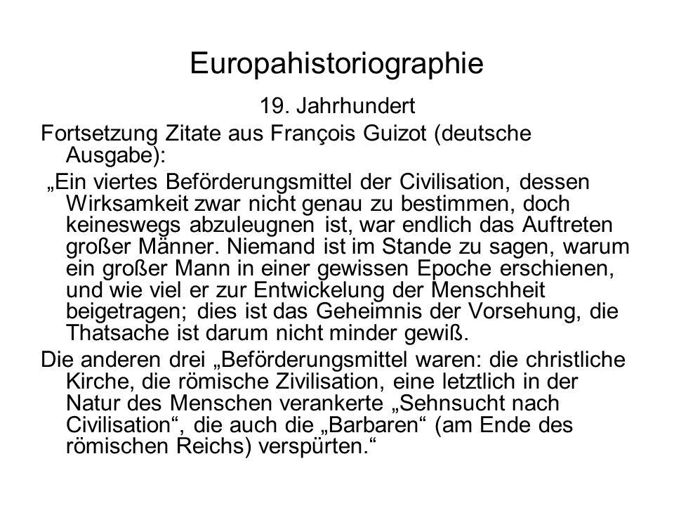 Europahistoriographie 19.