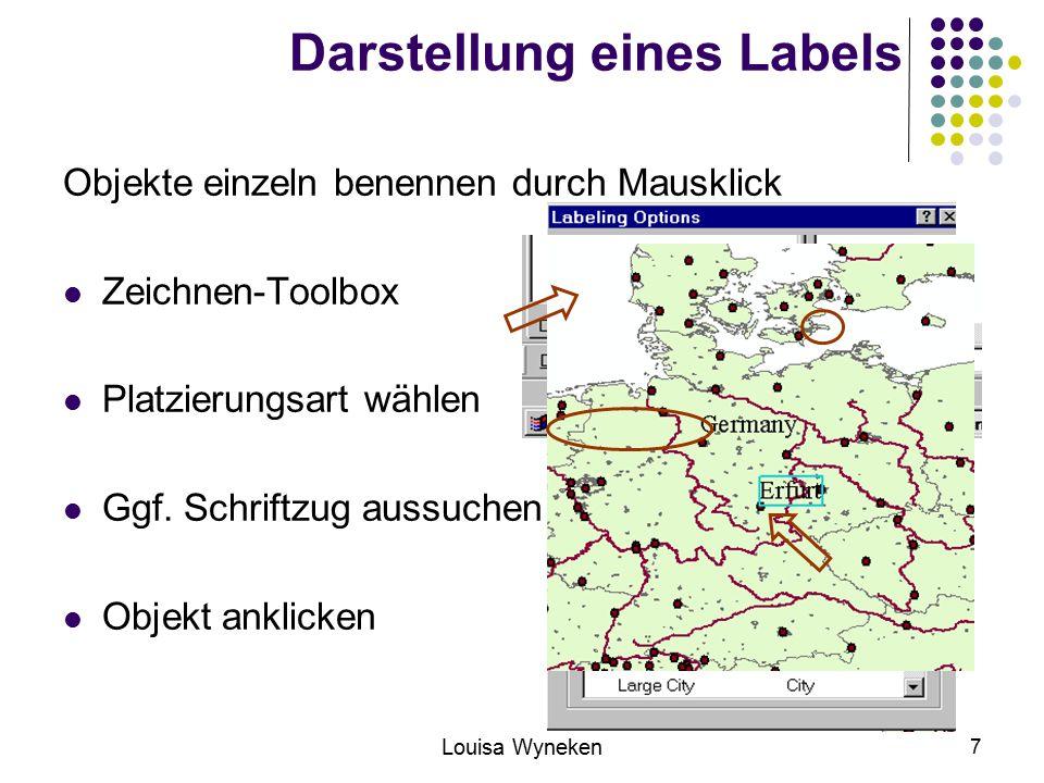 Louisa Wyneken 18 Überlappung von Labeln und Features