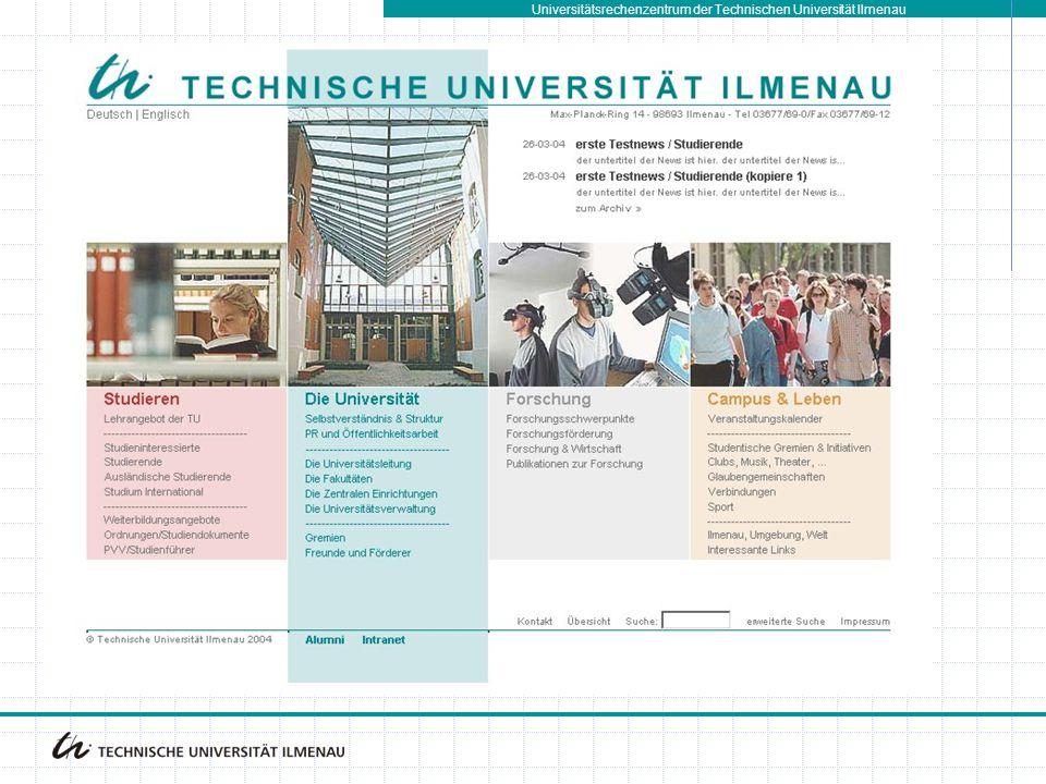 Universitätsrechenzentrum der Technischen Universität Ilmenau