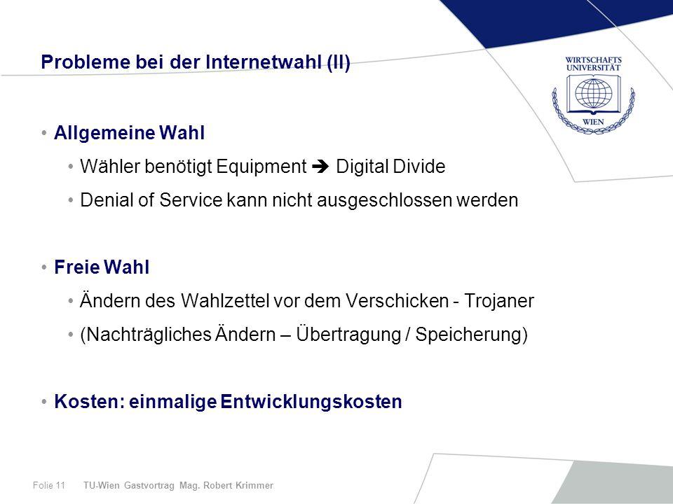 TU-Wien Gastvortrag Mag.